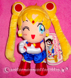 sailor moon 10th anniversary plush toy