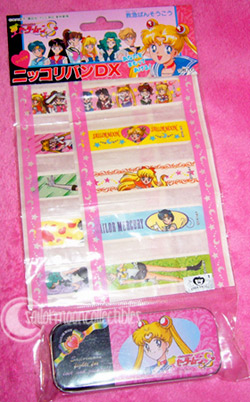 sailor moon bandaids