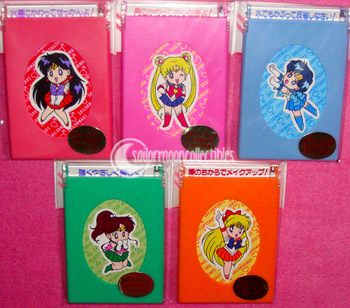 sailor moon toys memo box