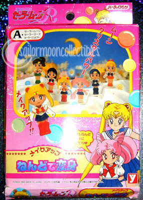 sailor moon toys clay figures