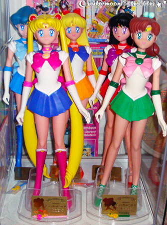 sailor moon excellent model figures
