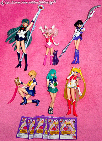 sailor moon gashapon set 2 toys