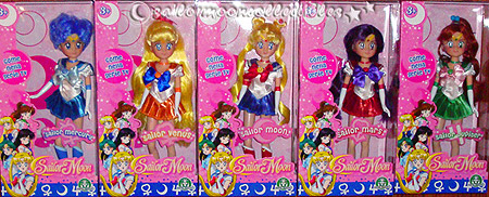 sailor moon italy italian dolls 2011 new