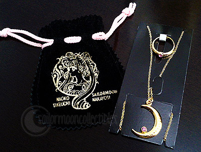 sailor moon necklace ring jewelry
