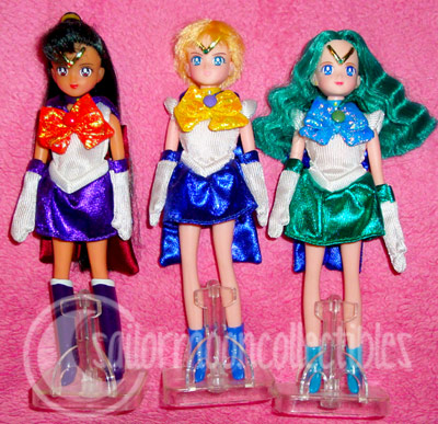 sailor moon uranus neptune pluto dolls