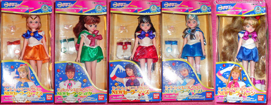 pretty guardian sailor moon dolls