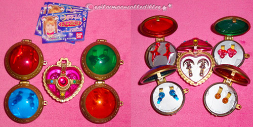sailor moon toy locket brooch jewelry