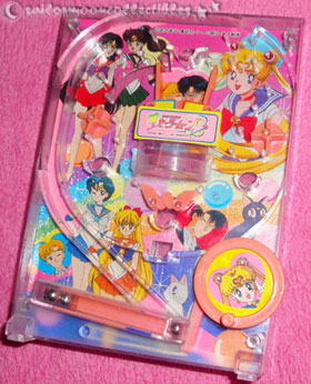 sailor moon toy pinball