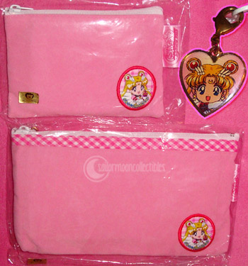 sailor moon pink pouch case