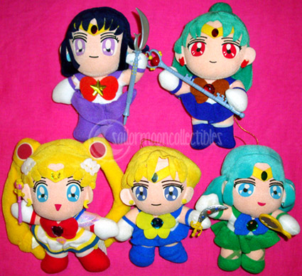 """sailor moon toys"" sailormoon plush"
