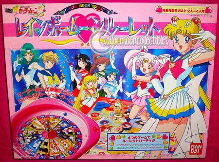 sailor moon toy roulette