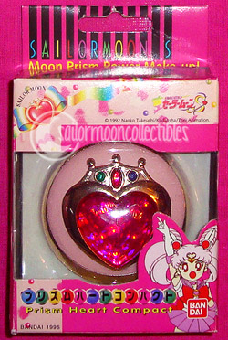 sailor chibimoon locket brooch compact toy
