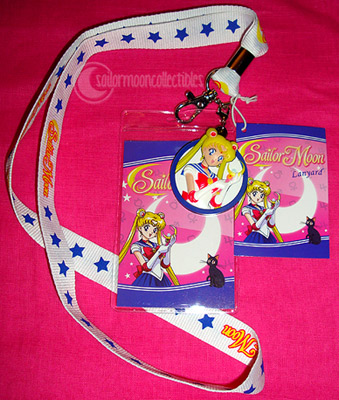 """sailor moon toys"" sailormoon hot topic lanyard 2012"