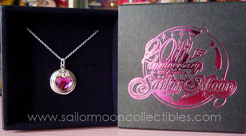 """sailor moon"" ""sailor moon 20th anniversary"" ""sailor moon jewelry"" ""sailor moon necklace"" ""sailor moon merchandise"" ""sailor moon 2013"" ""sailor chibimoon"" premium bandai japan anime new merchandise silver necklace"