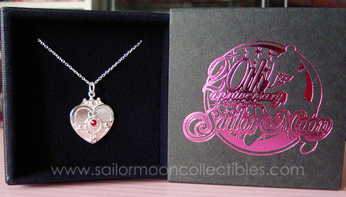 """sailor moon"" ""sailor moon merchandise"" ""sailor moon toys"" ""sailor moon 2013"" ""sailor moon necklace"" ""sailor moon locket"" ""sailor moon compact"" brooch bandai anime japan ""cosmic heart"" ""20th anniversary"" silver jewelry"