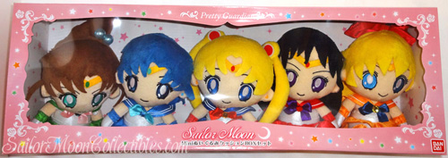 """sailor moon"" ""sailor moon plush"" ""sailor moon toys"" ""sailor moon merchandise"" ""20th anniversary"" sailor mercury mars jupiter venus dolls bandai anime toy japan"