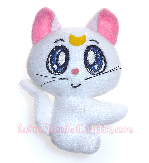 """sailor moon"" ""sailor moon plush"" ""sailor moon toys"" ""sailor moon merchandise"" ""sailor moon artemis"" ""sailor moon collectibles"" artemis bandai plush ""moon kitty"" ""clip on"" gashapon luna anime japan"