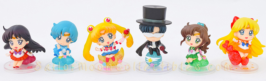 """sailor moon"" ""sailor moon figures"" ""sailor moon toys"" ""sailor moon merchandise"" ""sailor moon 2015"" ""petit chara"" candy megahouse anime figure shop japan"