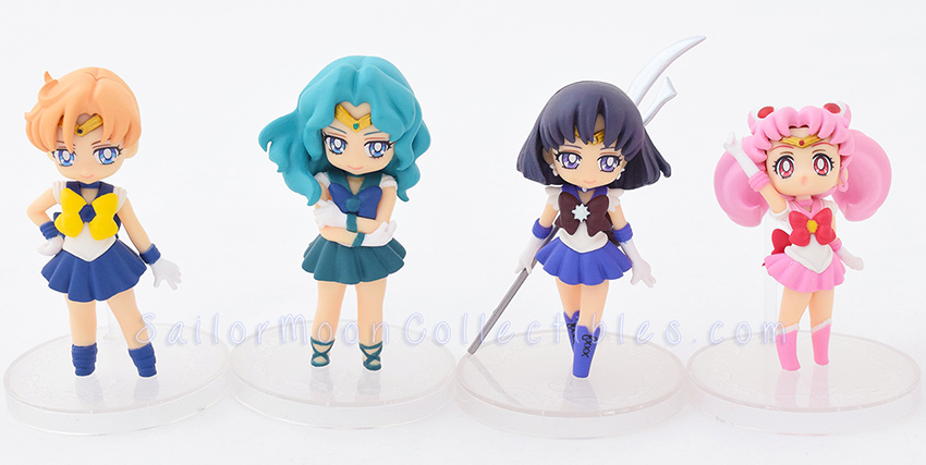 """sailor moon"" ""sailor moon toys"" ""sailor moon figure"" ""sailor moon merchandise"" banpresto sailor saturn neptune uranus chibimoon prize anime japan figure 2015"