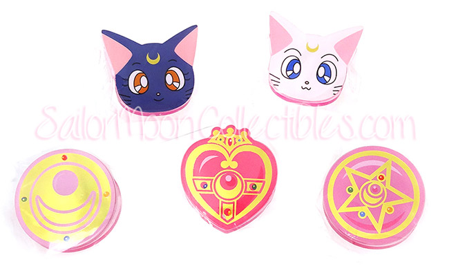 """sailor moon"" ""sailor moon merchandise"" ""sailor moon compact"" ""sailor moon locket"" ""sailor moon 2014"" ""sailor moon toys"" ""sailor moon stationery"" sunstar bandai anime japan shopping clips luna artemis"