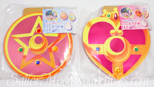 """sailor moon"" ""sailor moon toys"" ""sailor moon compact"" ""sailor moon locket"" ""cosmic heart"" ""crystal star"" transformation ""sailor moon 2013"" ""sailor moon anime"" toys collectibles japan anime bandai stationery memo pad"