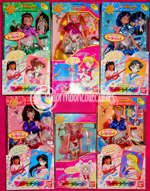 """sailor moon dolls"" ""sailor moon toys"" ""sailor moon"" talking doll collection"