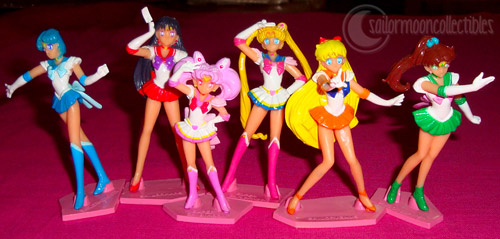 """sailor moon toys"" ""sailor moon figures"" ""sailor moon gashapon"" toys"