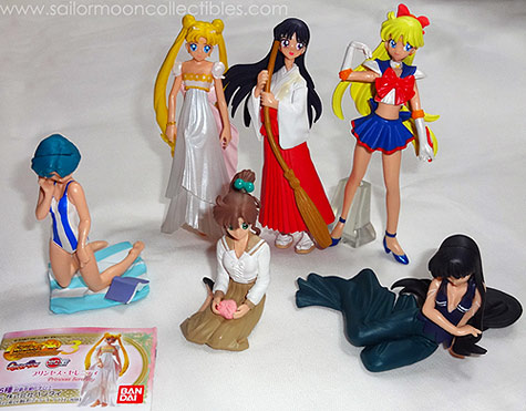 """sailor moon"" ""sailor moon gashapon"" ""sailor moon figures"" ""sailor moon toys"" merchandise toy doll anime japan bandai ""sailor moon world"""