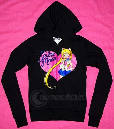 sailor moon hot topic hoodie sweater