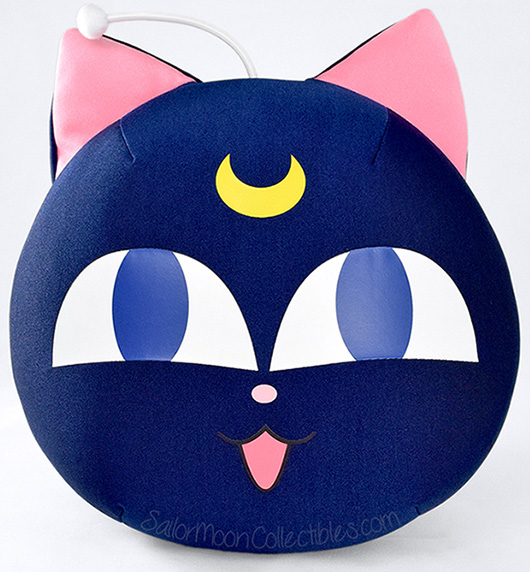 """sailor moon"" ""sailor moon plush"" ""sailor moon toys"" ""sailor moon merchandise"" ""luna p"" anime plush cushion japan"