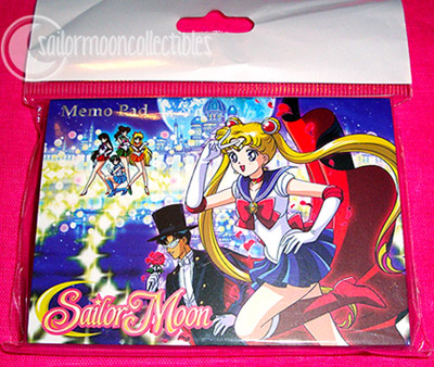 """sailor moon toys"" sailormoon memo pad"
