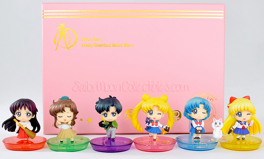 """sailor moon"" ""sailor moon figures"" ""sailor moon merchandise"" ""sailor moon toys"" ""petit chara"" ""school life"" megahouse anime japan figures"