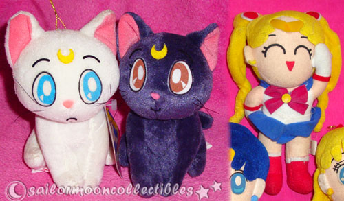"""sailor moon"" ""sailor moon toys"" ""sailor moon plush"" ""sailor moon merchandise"" anime japan banpresto doll toy luna artemis"