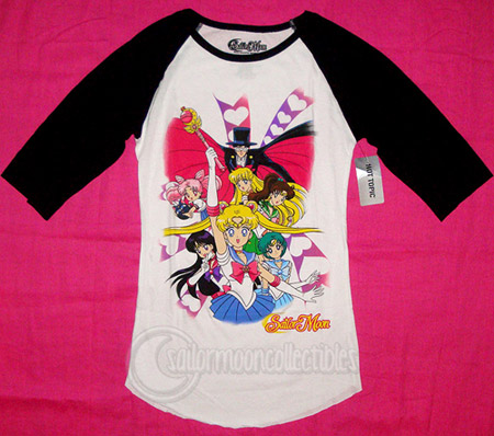 sailor moon 2011 shirt hot topic