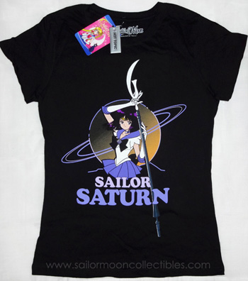 &quot;sailor moon&quot; &quot;sailor moon merchandise&quot; &quot;sailor saturn&quot; &quot;hot topic&quot; tshirt tee clothing collectibles &quot;outer senshi&quot; 2013