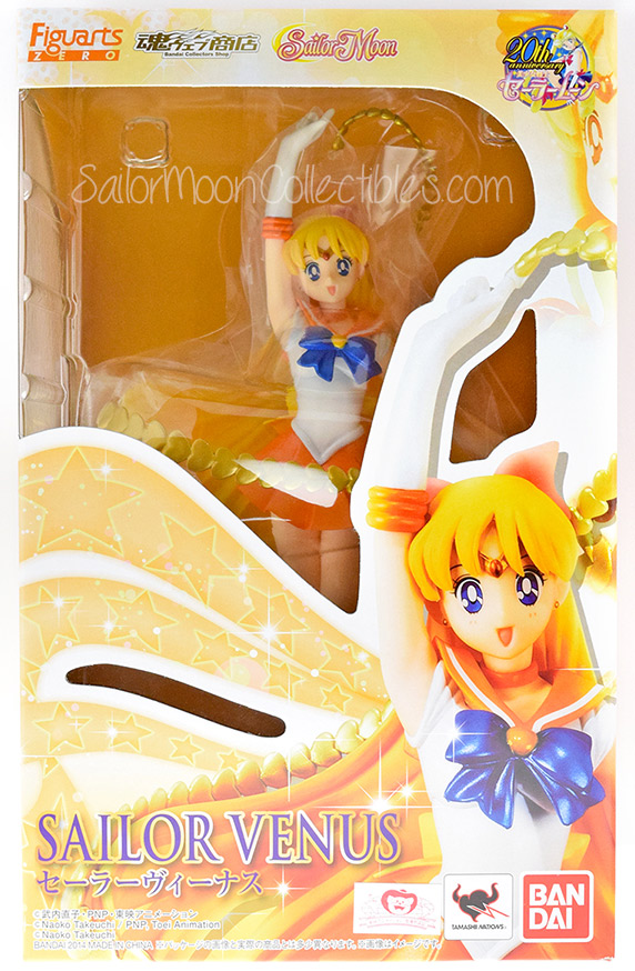 """sailor moon"" ""sailor moon merchandise"" ""sailor moon figure"" ""sailor moon 2014"" ""sailor moon toys"" ""sailor venus"" ""figuarts zero"" anime japan toy shopping bandai"