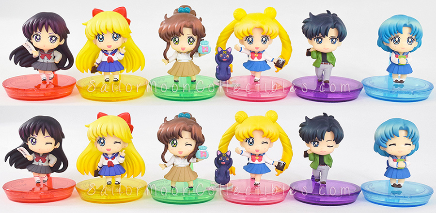 """sailor moon"" ""sailor moon merchandise"" ""sailor moon toys"" ""sailor moon figures"" ""school life"" ""petit chara"" megahouse anime japan figure shop"