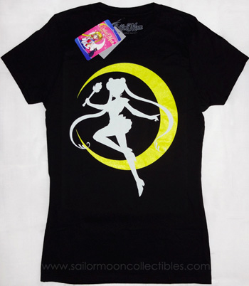 """sailor moon"" ""sailor moon merchandise"" ""hot topic"" tshirt tee clothing collectibles moon silhouette 2013"