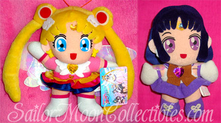 """sailor moon"" ""sailor moon toys"" ""sailor moon plush"" ""sailor moon merchandise"" anime japan ""eternal sailor moon"" ""sailor saturn"" banpresto doll"