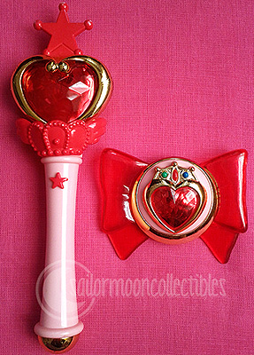 """sailor moon toys"" ""sailor moon"" ""sailor chibimoon"" wand locket"