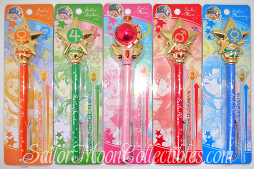 """sailor moon"" ""sailor moon toys"" ""sailor moon wand"" ""cutie moon rod"" star henshin transformation wand pointer pen sunstar stationery ""sailor moon 2013"" ""sailor moon anime"" toys collectibles japan"