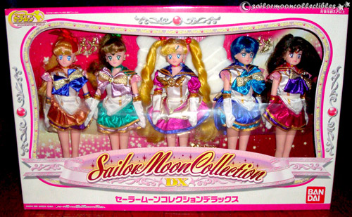 sailor moon dx world dolls set