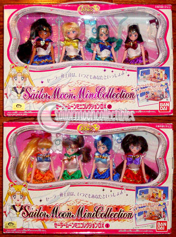 sailor moon dolls inner outer senshi