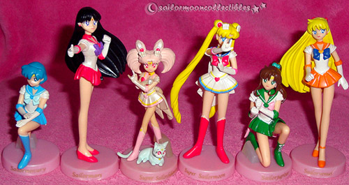 sailor moon figures candy toys