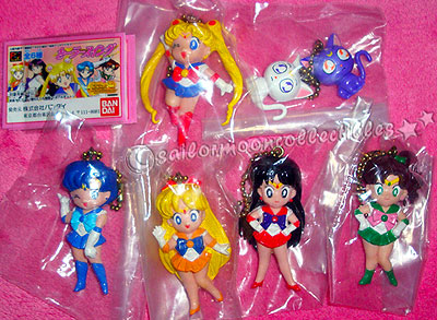 sailor moon keychains toys
