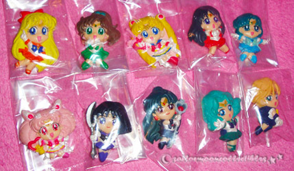 sailor moon world magnets