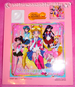 sailor moon toys puzzle