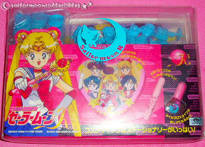 sailor moon figures stamp set