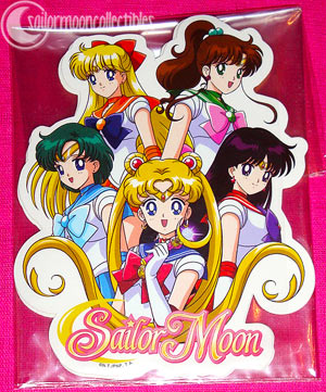 sailor moon 2012 new sticker toys