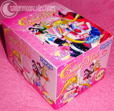 sailor moon stickers 2011 new